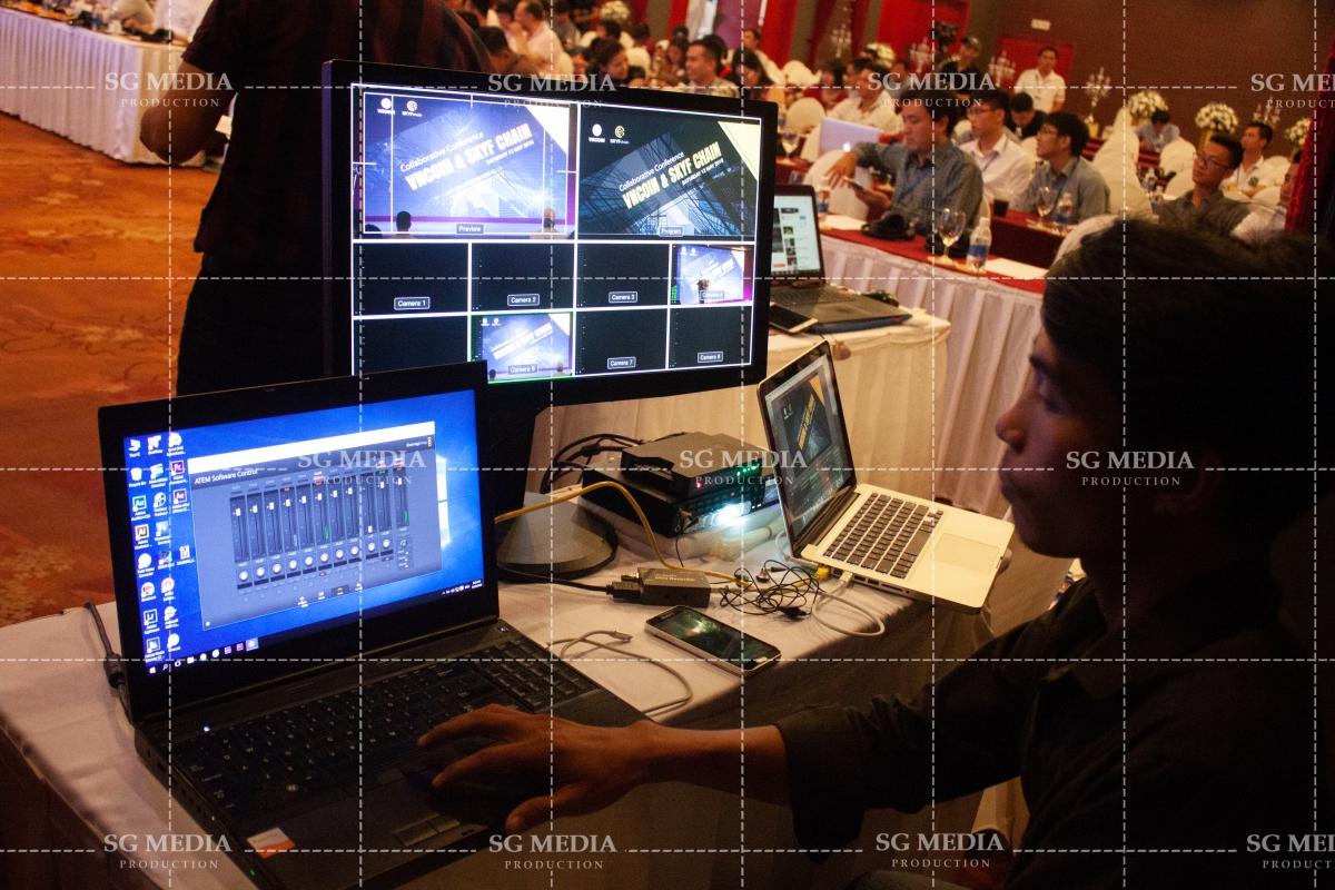 Truyền Thông Sài Gòn chuyên triển khai dịch vụ livestream hội nghị giá rẻ cho các sự kiện